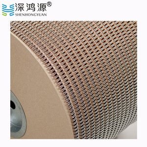 PET Coated Double Spiral Binding Wire Double Loop Wire O Book Binding Spiral Wiro Binding Wire Ring