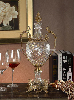Royal Bronze Crystal Trophy, Luxury Home Decorative Trophy (BF01-0211-1)