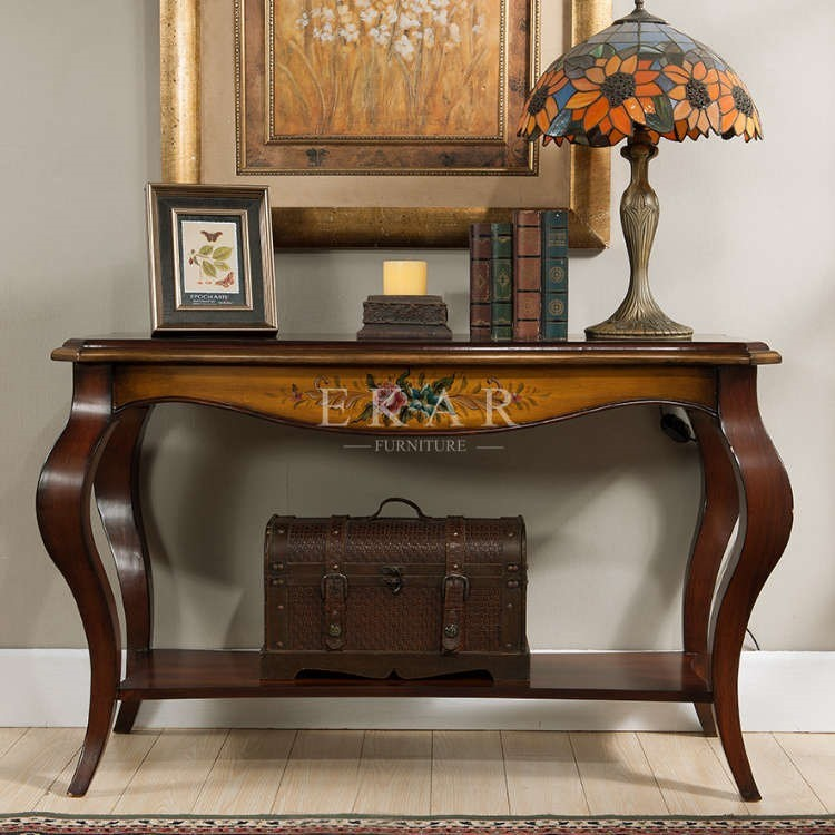 Foyer Table For Church : Wood tables furniture baroque side table deco vintage