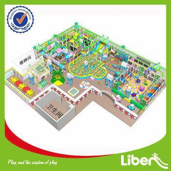 Hot Sale cheap indoor playground of LE-BY015