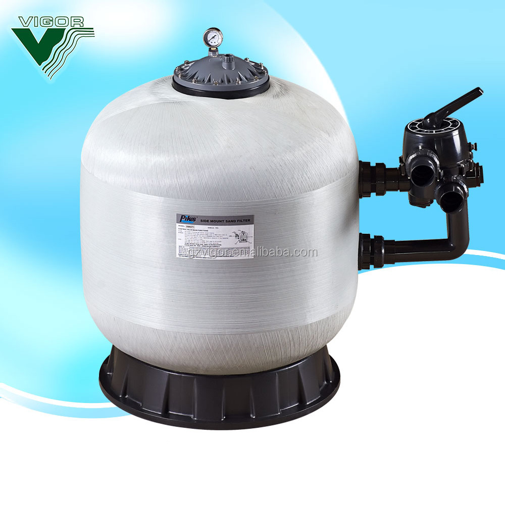 Firberglass 2 inch Valve Swimming Pool Sand Filter For Irrigation pedicure chair