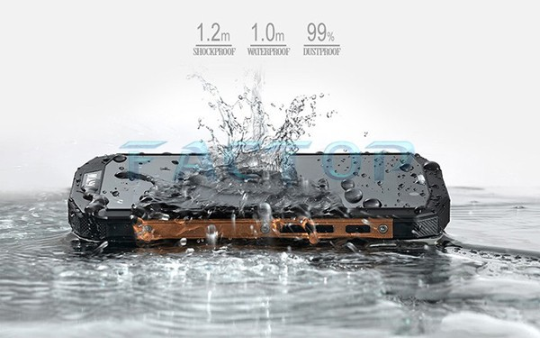 New fashion waterproof smart phone 4g with android quad core rugged moble phones