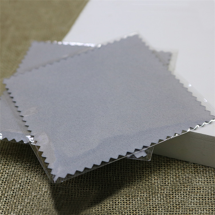 Eco-Friendly Anti Tarnish Silver Polishing Cloth For Jewelry Cleaning