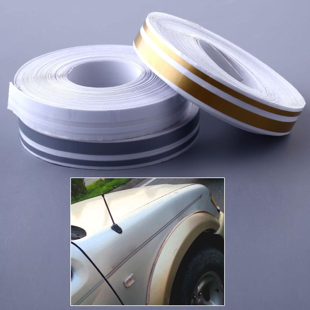 1 2 Double Line Pinstriping Pin Stripe Tape Sticker 12mm Fluorescent Yellow Ushirika Coop