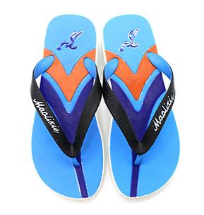 $1 novelty with embossed logo back strap flip flops inflatable