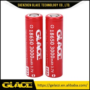 Glace Battery 3000mah 3.7V LED Torch Flashlight Rechargeable Battery