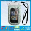 New black waterproof mobile cell phone neck case pouch