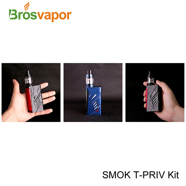 2017 Newest SMOK T-PRIV 220W Kit 5ml Standard Edition / 2ml EU Edition Wholesale