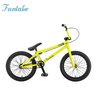 Funlake china suppliers OEM ODM original Hi-ten steel frame BMX bike stunt fancy street performance bicycle for kids adults