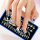 3D Nail Decoration Cute Lively Christmas UV Polish Nail Stamping Plates for Nail Art