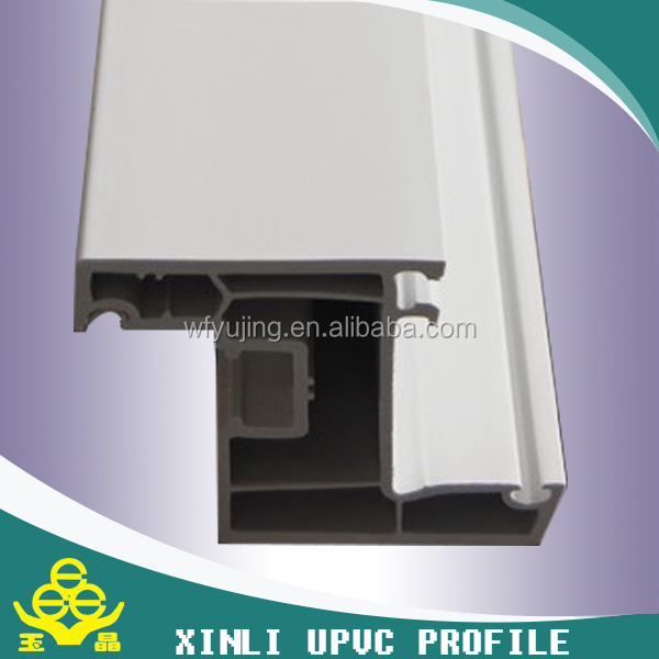 co-extrusion u shape plastic pvc profile