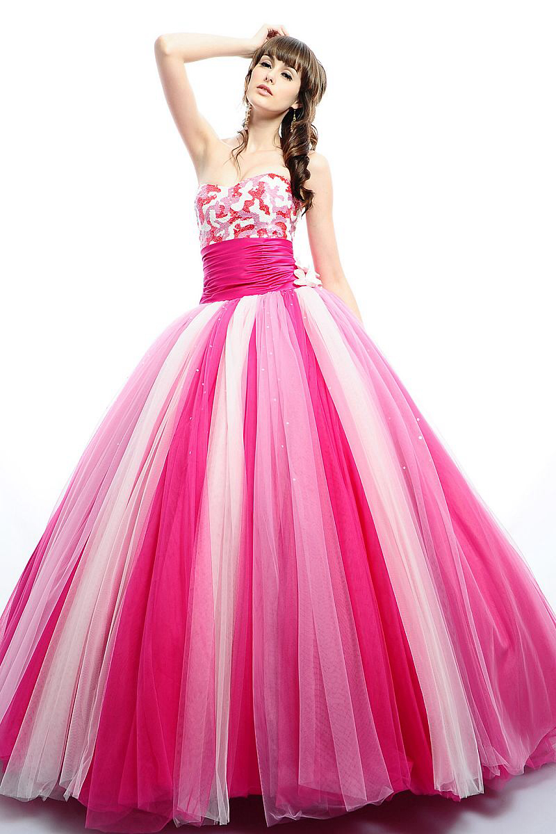 46b5c3ef60f82 Get Quotations · Multi Color Prom Dresses with Bolero 2015 Quinceanera  Dresses Strapless Beaded Bodice Sweet 16 Princess Ball