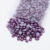 Wholesale Z48-Dark Blue Purple ABS Flatback Half Round Nail Pearl Beads