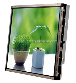 "17"" high resolution cheap touch screen monitor with SAW touch screen cheap touch screen monitor"