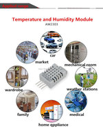 Easy-Operating AM2303 Temperature and Humidity Sensor For HVAC Test