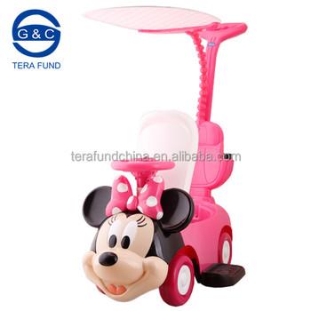 Avec Sous Sur Enfants Monter Fille Balade Voiture Ride Minnie fille Licence voiture Autorisés La En Voiture Pour Buy balade Rose Auvent PZTOkuXiw