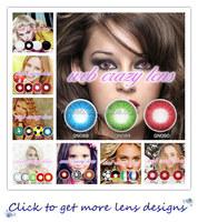 Korean Wholesale color Eye Contact Lenses, Eye Contact Lens