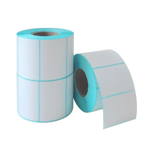 Factory direct Thermal transfer printing blank label sticker paper rolls