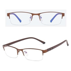 df5203f118 fashion arrivals spectacle metal frames blue light blocking anti glare  optical rubber legs men computer glasses