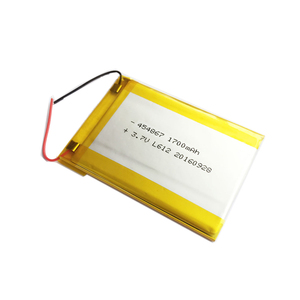 454867 lithium polymer batteries 3.7v 1700mah lipo ultra thin Flat battery