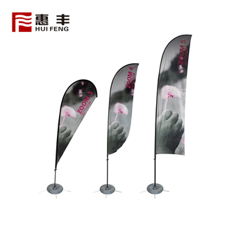 Trade Assurance China Manufactures Personalised Outdoor Beach Banner Flags