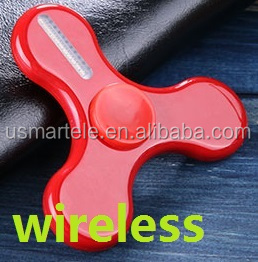 2017 Hot Sale led fidget hand spinner programmable with app to put different word and picture,support android and IOS systerm