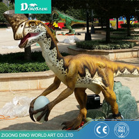 Customized Life Size Rubber Foam Toy Dinosaur