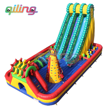 kids inflatable outdoor fun city playground children amusement park equipment for sale