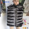 Wholesale Fashion Women'S Simple Style Rex Rabbit Fur Vests