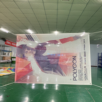 PVC Full Color Wholesale custom printed vinyl mesh banner for advertising