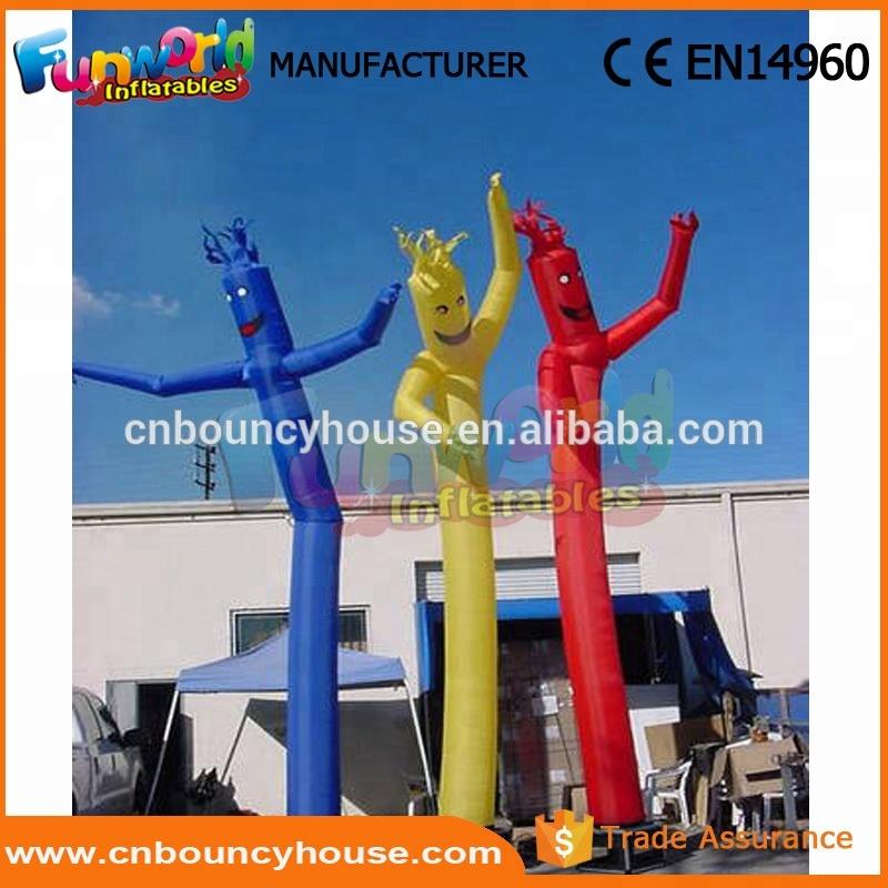 Custom dancing inflatable advertising man sky dancer blower for sale