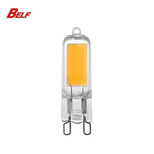 2018 Belf Hot Sale COB Full Glass G9 LED Bulb 1W,2W,3W,4W Dimmable