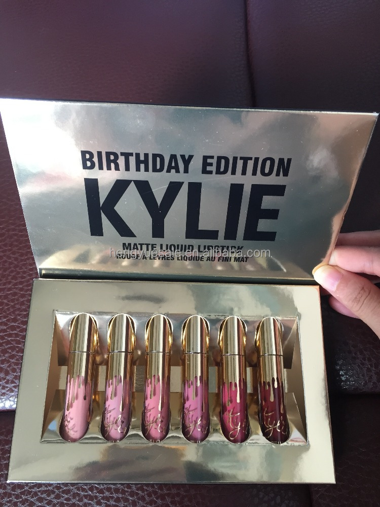2016 cosmetic lipgloss matte waterproof THE LIMITED EDITION Kylie Cosmetics Lipstick kylie lip kit