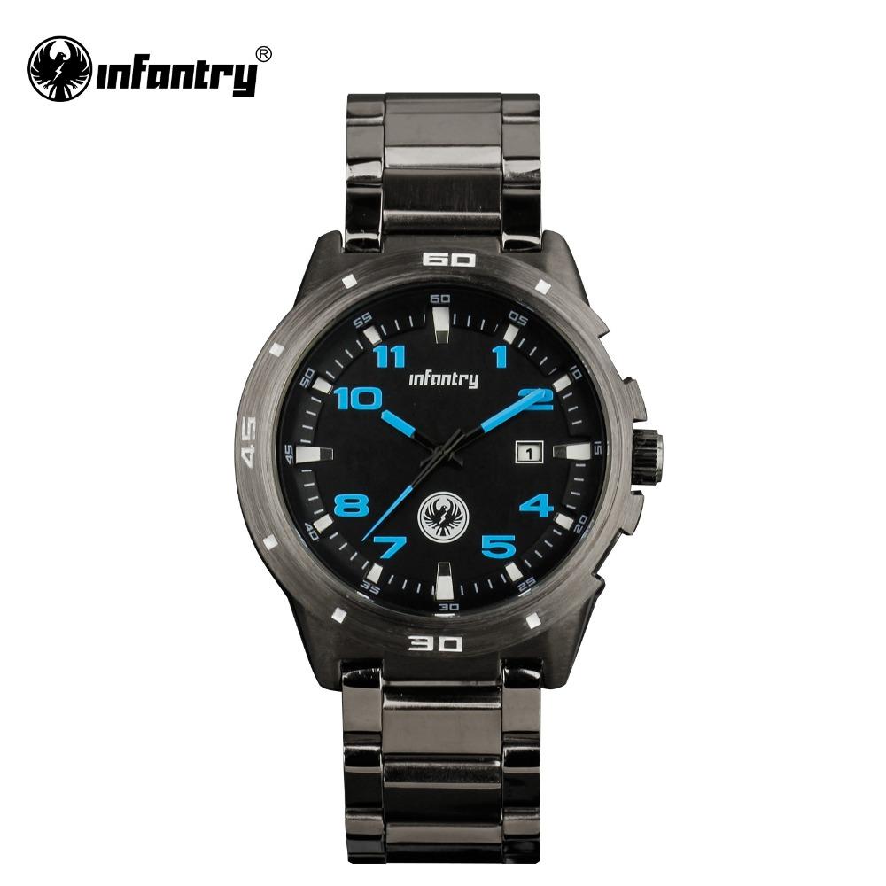 Aliexpress.com : Buy INFANTRY Watch Gunmetal Military ...
