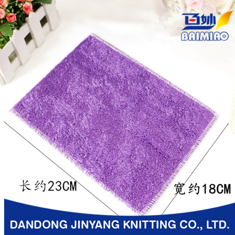 promotion top quality kitchen bamboo fiber cleaning dish cloth