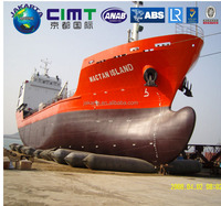China supplier inflatable pneumatic boat launching airbag,Natural rubber high strength floating marine lifting airbag