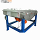 Reliable operation linear vibrating sieve machine mini line vibrating screen