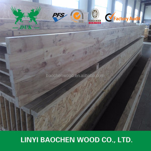 China top woods H405 Wooden I Beam cheap price can be used construction material
