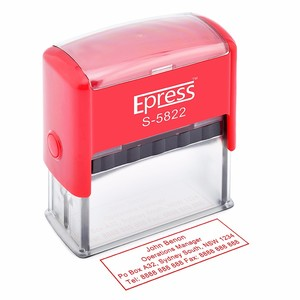 Hot sell office stamp ,self-inking rubber stamp material