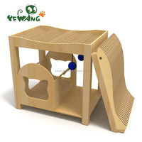 Newest hot sell natural style pet climbing cat tree toys