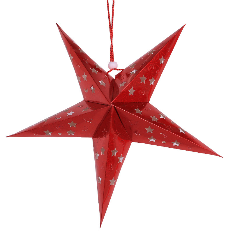 Meilun Art Crafts Hanging Christmas Paper Star Lantern party decoration christmas decoration wedding decoration