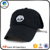 Top Quality Black Custom Cheap Baseball Cap