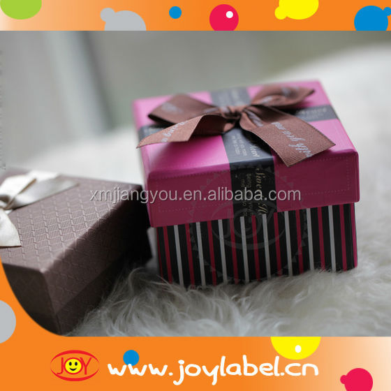 square gift boxes for gift deco box