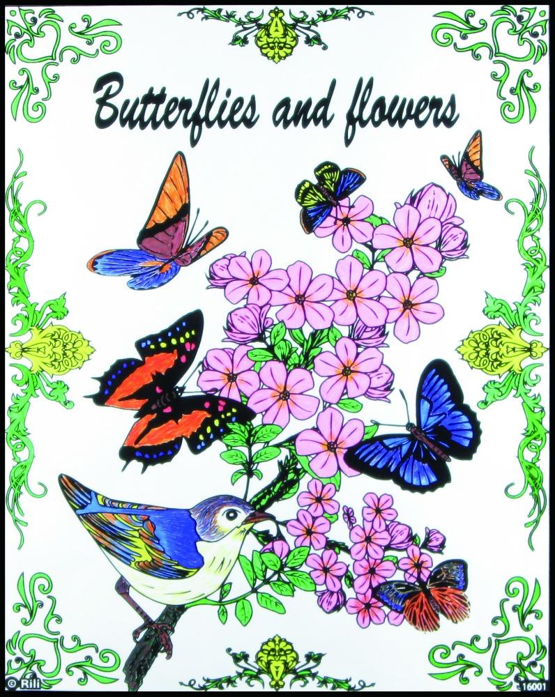 Venta al por mayor mariposas dibujo color-Compre online los mejores ...
