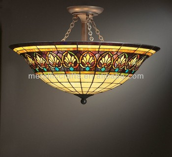 stained glass ceiling light. Custom Stained Glass Ceiling Light Cover S