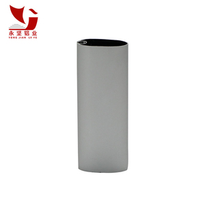 YongJian 16mm U Flat Threaded Aluminum Tube