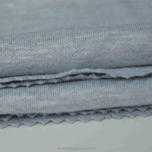 Garments material solid knit fabric cotton tricot fabric wholesale