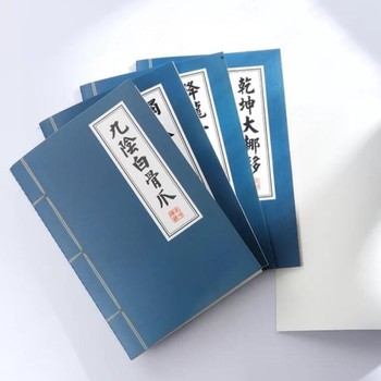 Chinese classic Secret Book design Kung fu story notebook
