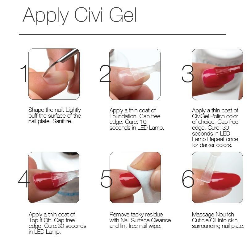 canni uv builder gel instructions