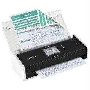 """Brother Imagecenter Ads-1500W - Document Scanner - Duplex - 8.5 In X 34 In - 600 Dpi X 600 Dpi - Up To 18 Ppm (Mono) / Up To 18 Ppm (Color) - Adf ( 20 Sheets ) - Up To 500 Scans Per Day - Usb 2.0, Wi-Fi(N) """"Product Type: Peripherals/Sheetfeed Scanners"""""""